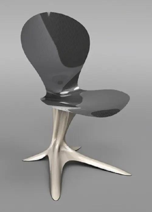 Ultra Futuristic Furniture Made Of Metal Digsdigs