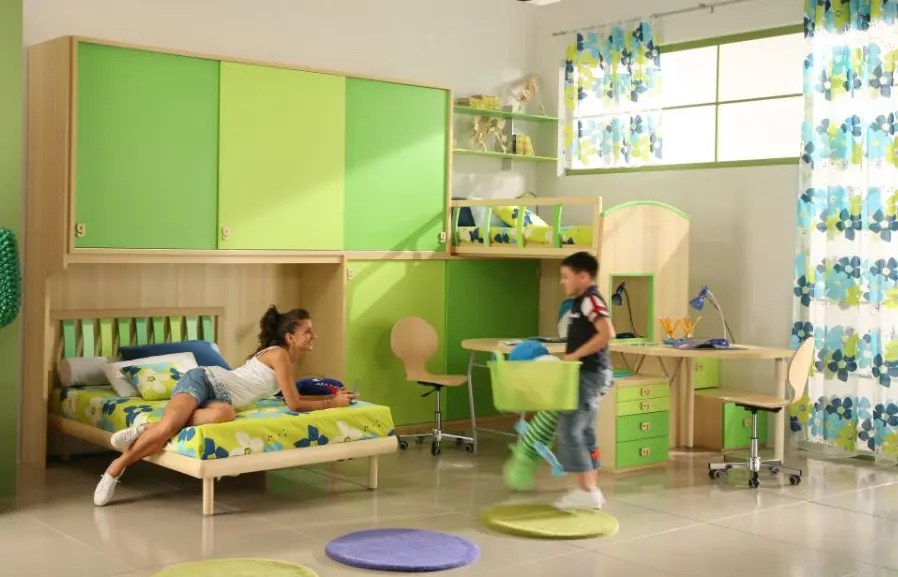 50 Brilliant Boys and Girls Room Designs - Unoxtutti from ... on Best Rooms For Girls  id=33756