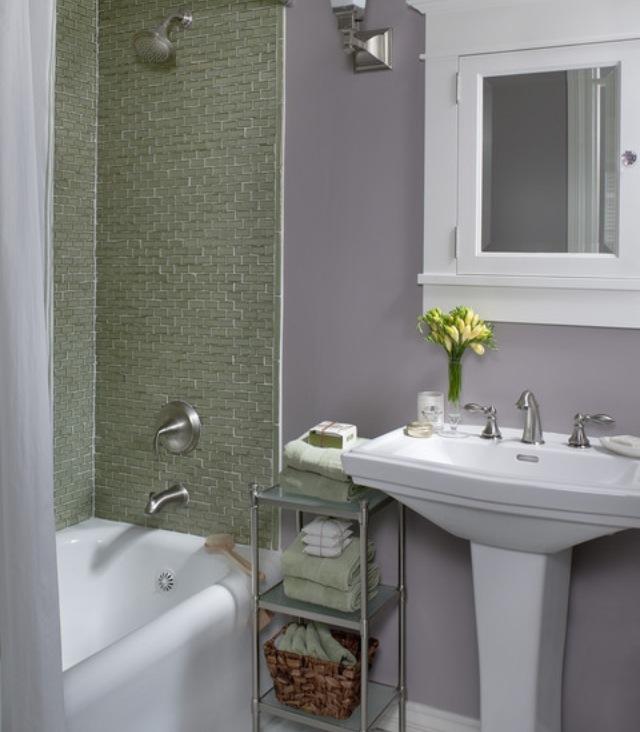 Bathroom Decor Lime Green