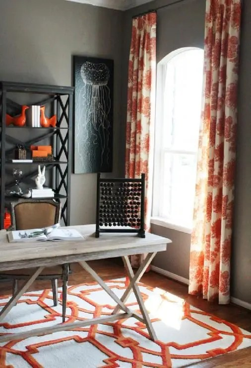 45 grey and coral home decor ideas