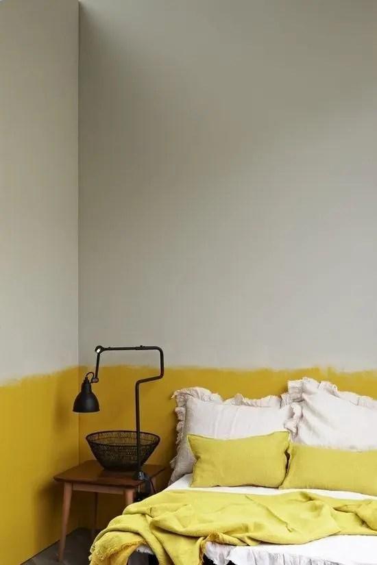 The Latest Decor Trend 29 Half Painted Wall Decor Ideas