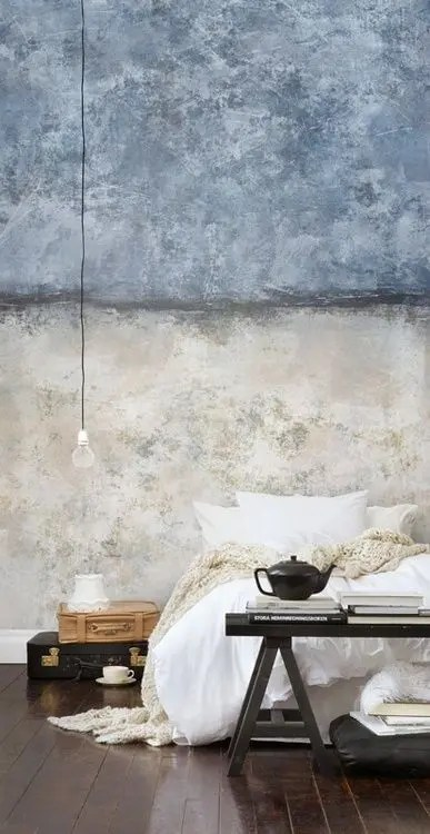 Browse more bedroom decorating ideas in the decorating gallery. The Latest Decor Trend: 29 Half-Painted Wall Decor Ideas
