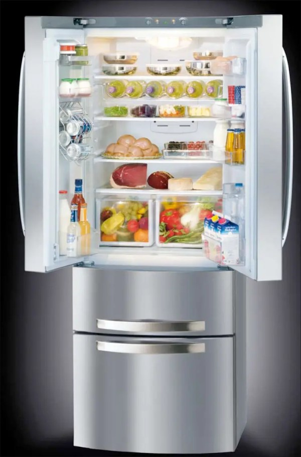 New Ergonomic 4-Doors Fridge - Quadrio from Hotspot ...