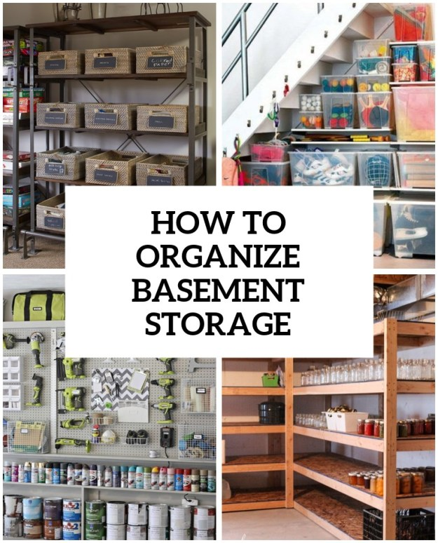 how to organize a storage room | euffslemani