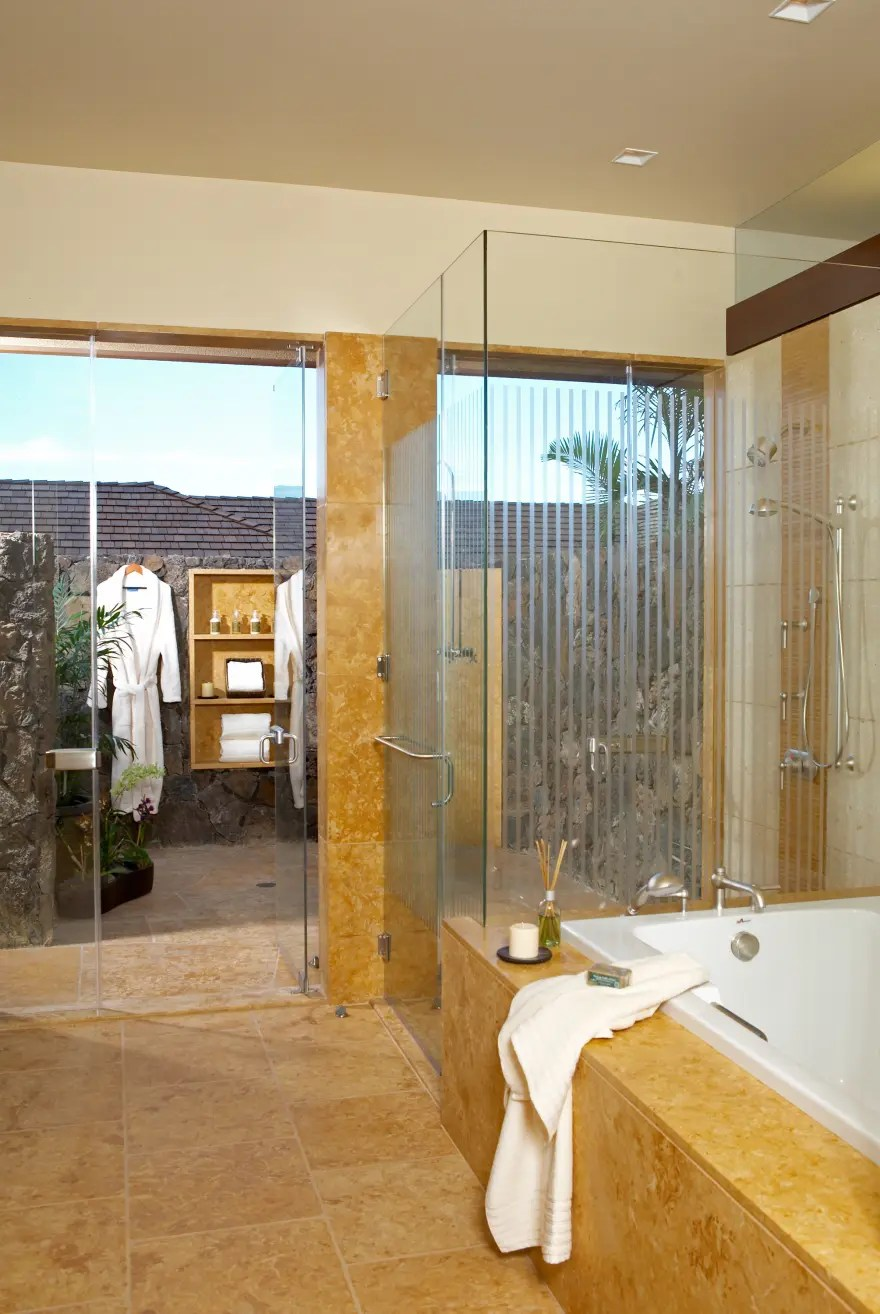 Luxury Dream Home Design at Hualalai by Ownby Design ... on Modern:kkgewzoz5M4= Small Bathroom  id=11340