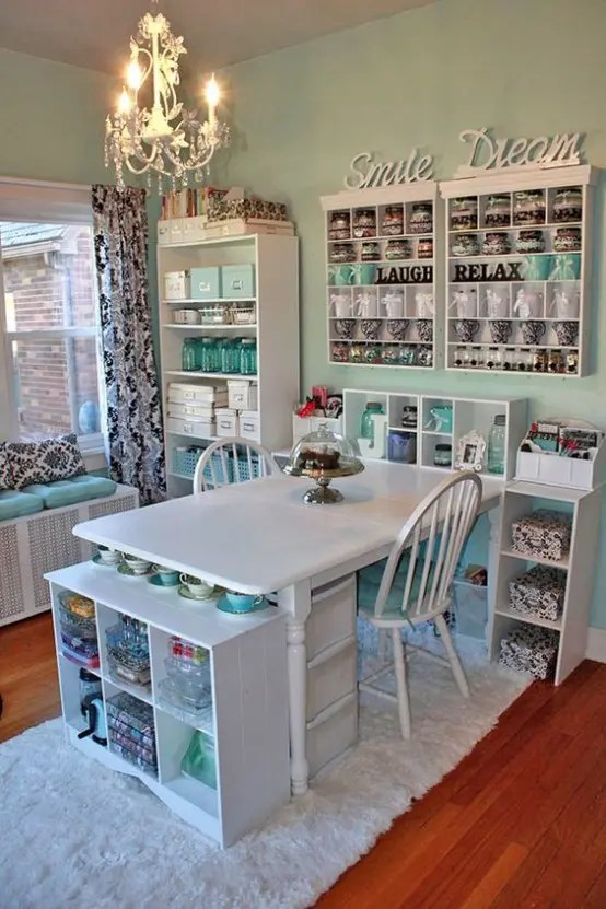 Framing is a snap with stiicks 01:42 fra. 40 Ideas To Organize Your Craft Room In The Best Way