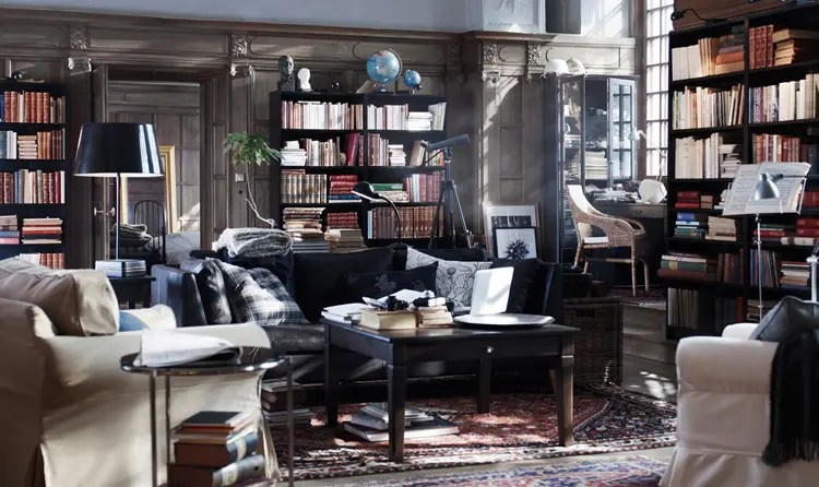 When you want to design and build your own dream home, you have an opportunity to make your dreams become a reality. IKEA Living Room Design Ideas 2010   DigsDigs