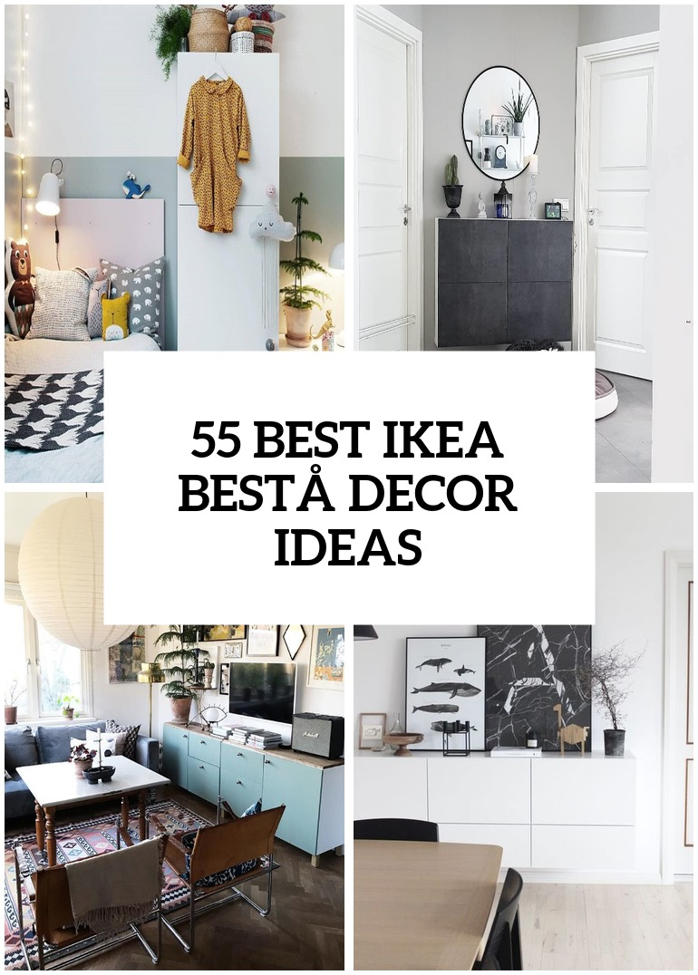 55 Ways To Use Ikea Besta Units In Home Decor Digsdigs