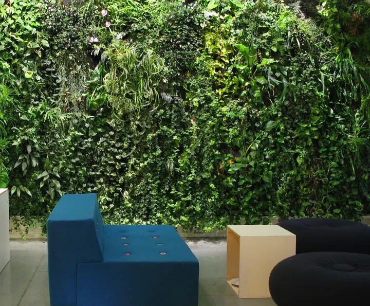 10 Cool Indoor Vertical Garden Design Examples DigsDigs