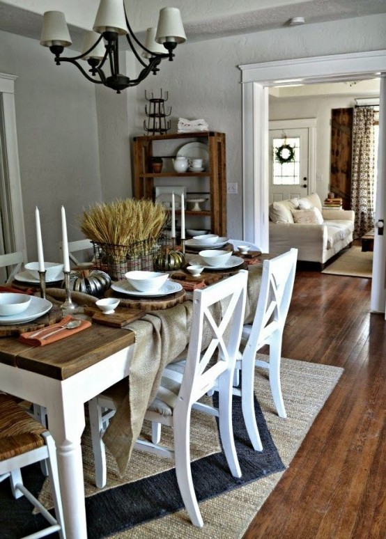 33 Inviting And Cute Vintage Dining Rooms And Zones - DigsDigs on Photo Room Decor  id=22601