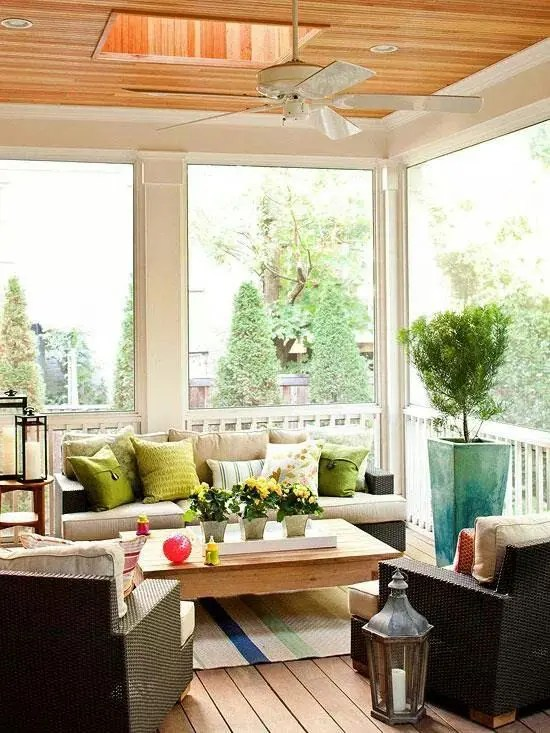 Enclosed Deck Ideas