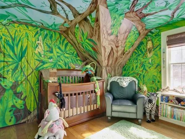 25 Cool Jungle Inspired Kids Room Designs Digsdigs
