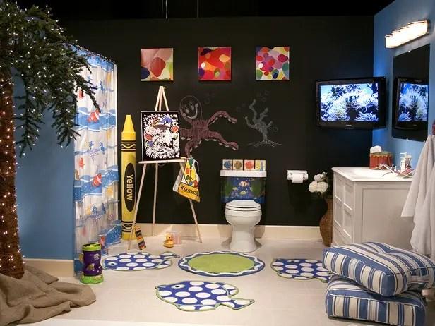 10 Cute Kids Bathroom Decorating Ideas   DigsDigs on Fun Bathroom Ideas  id=56491