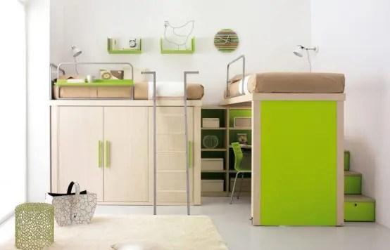 kids loft double bedroom