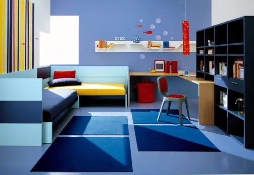 Kids Room Decor Blue