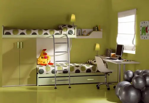 Kids Room Decor Green