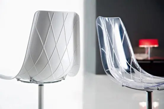 Lynea P Contemporary Dining Chairs
