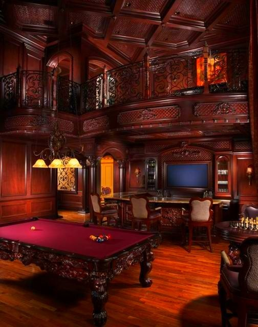 To create a space in your home for your teens to get away with their friends, start with a list of game room ideas. 77 Masculine Game Room Design Ideas - DigsDigs