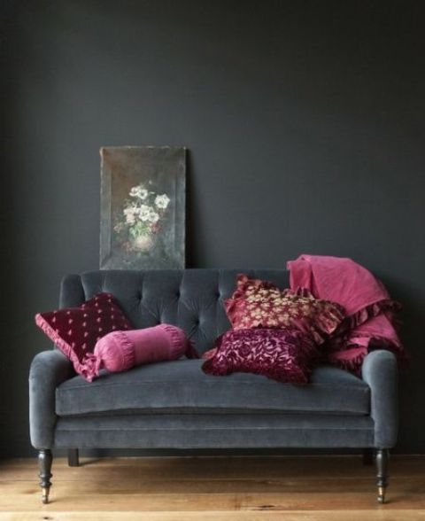 This pictures grey yellow bedroom decorating ideas decor present some motivation to you. Metallic Grey And Pink: 27 Trendy Home Decor Ideas - DigsDigs