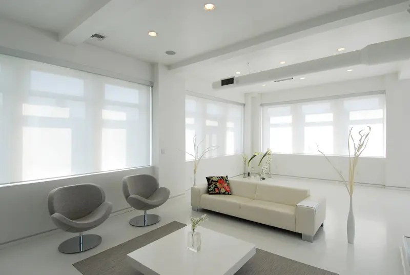 Minimalist Black And White Living Space Digsdigs