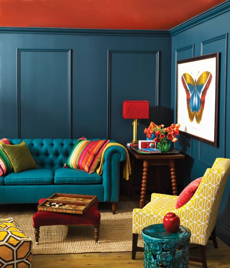 111 Bright And Colorful Living Room Design Ideas - DigsDigs on Colourful Living Room  id=58320
