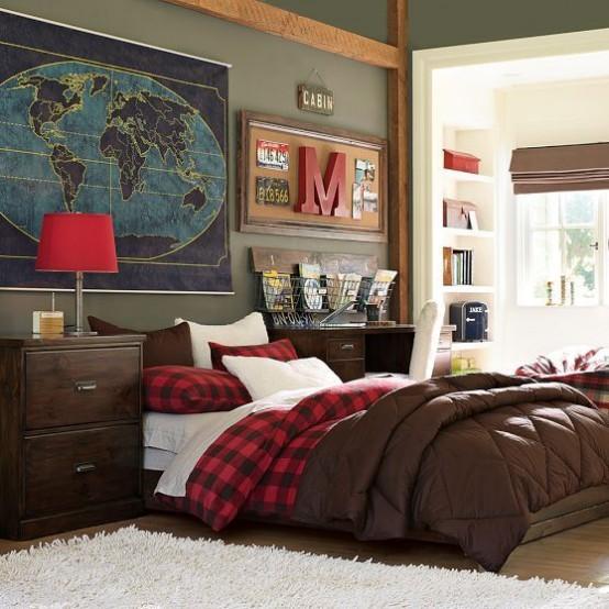 55 Modern And Stylish Teen Boys' Room Designs - DigsDigs on Teenage Room Ideas Boy  id=28460