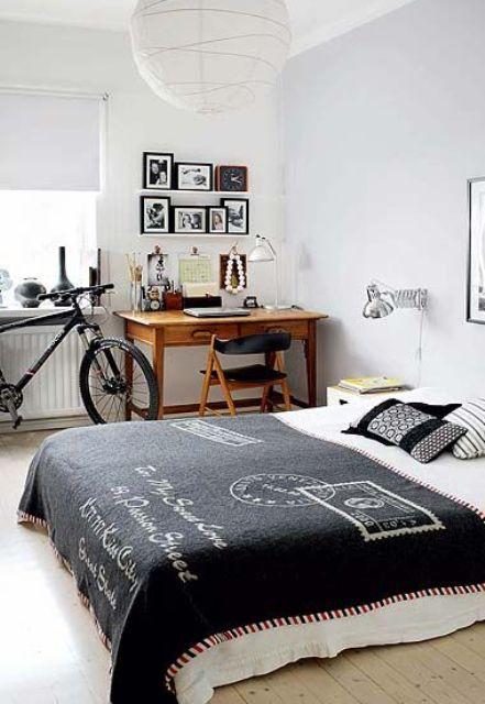 55 Modern And Stylish Teen Boys' Room Designs - DigsDigs on Teenager Style Teenage Room  id=49683