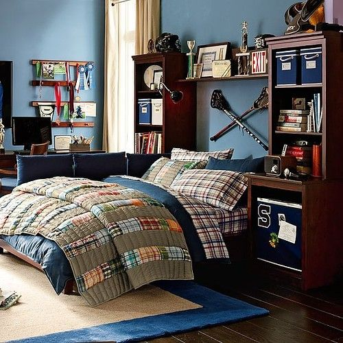 55 Modern And Stylish Teen Boys' Room Designs - DigsDigs on Teenage Boy Room  id=27294