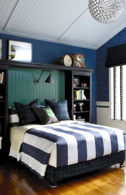 55 Modern And Stylish Teen Boys' Room Designs - DigsDigs on Small Bedroom Ideas For Teenage Guys  id=25741