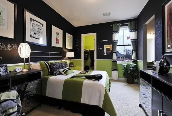 55 Modern And Stylish Teen Boys' Room Designs - DigsDigs on Teenage Boy Room  id=46260