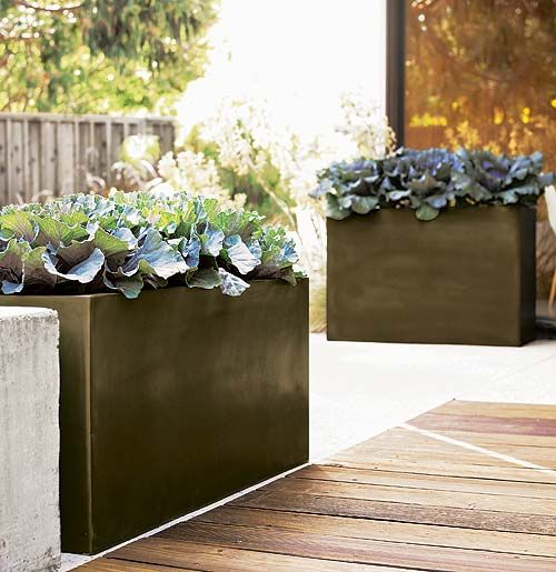 contemporary garden planters 37 Modern Planters To Make Your Outdoors Stylish - DigsDigs