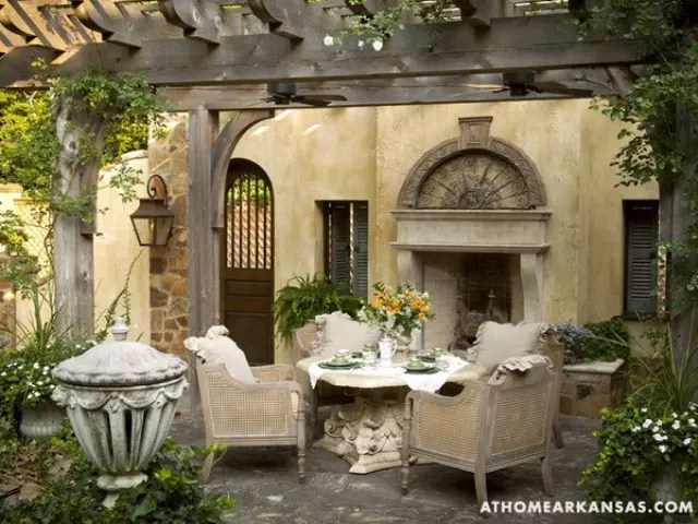 Amazing Old European Style Garden And Terrace Design DigsDigs