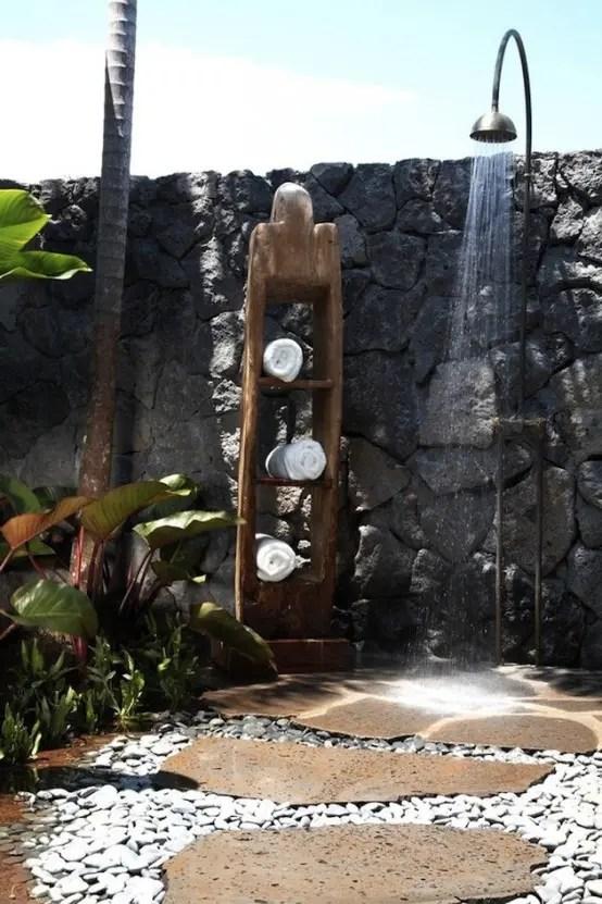 45 Outdoor Bathroom Designs That You Gonna Love - DigsDigs on Backyard Bathroom Ideas  id=55002
