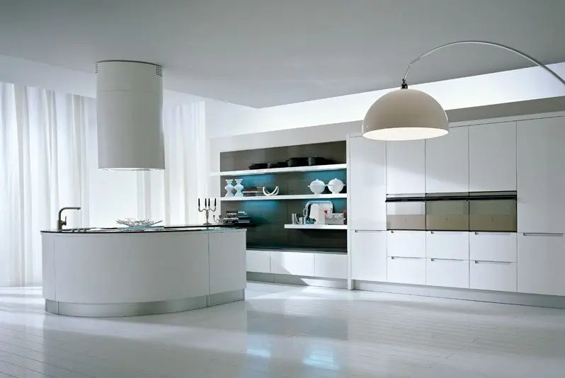 Pedini Kitchens With Rounded Countertops DigsDigs
