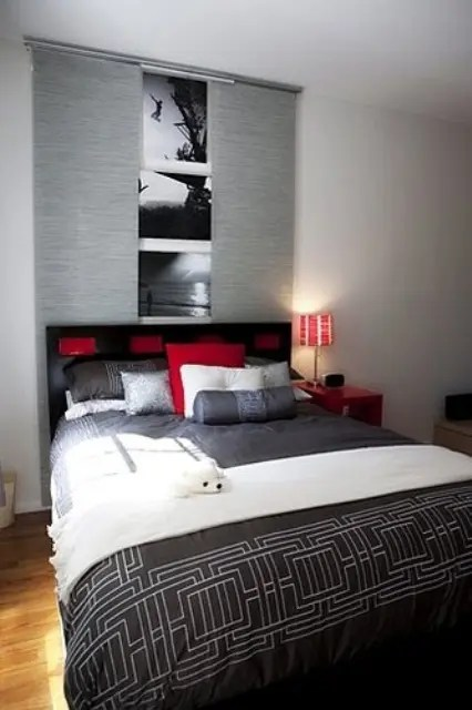 Red Accents In Bedrooms 34 Stylish Ideas DigsDigs