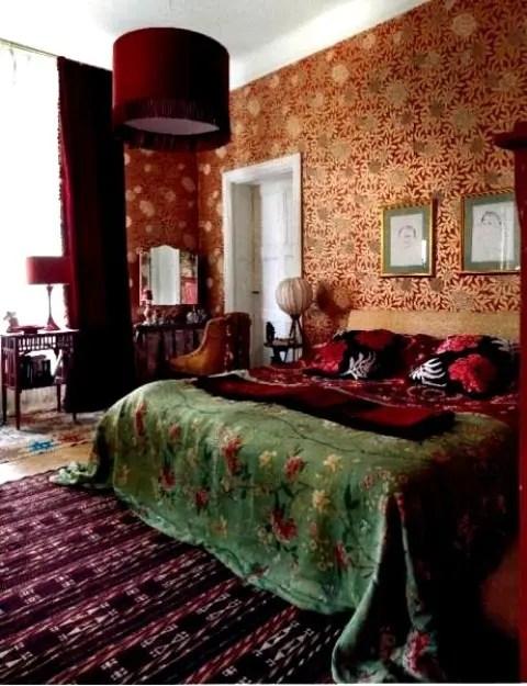 65 Refined Boho Chic Bedroom Designs - DigsDigs on Boho Master Bedroom Ideas  id=34679