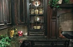 Lovely Goth Kitchen That Can Increase Productivity