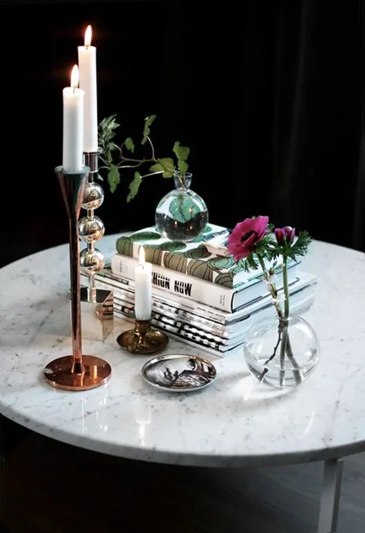 30 Refined Marble Furniture Pieces And Dcor Objects For