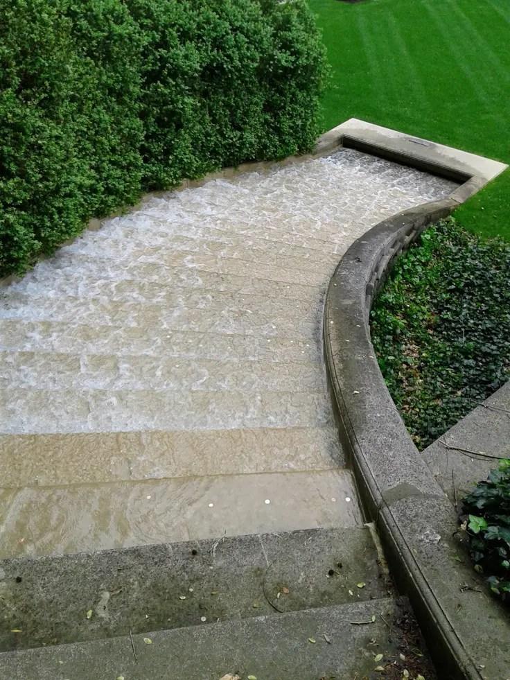 63 Relaxing Garden And Backyard Waterfalls | DigsDigs on Waterfall Ideas For Garden id=95952