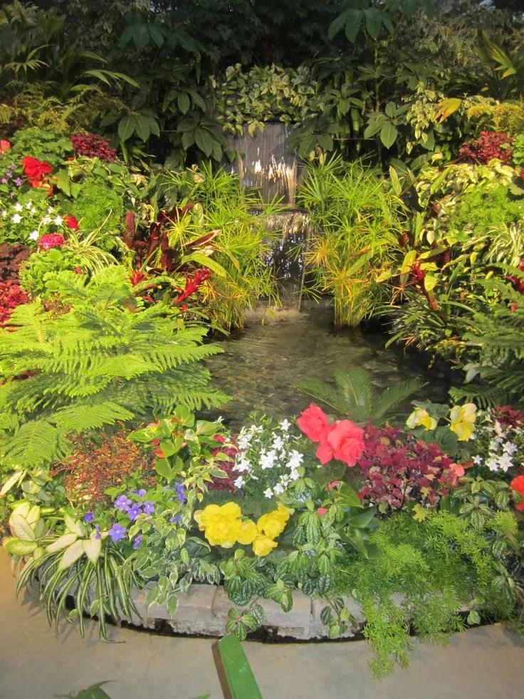 63 Relaxing Garden And Backyard Waterfalls | DigsDigs on Waterfall Ideas For Garden id=58030