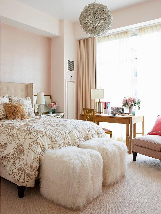 77 Romantic And Tender Feminine Bedroom Design Ideas ...