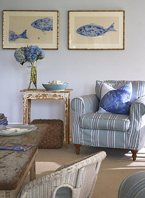 Discover nine bedroom decor ideas that'll show you how to do it right. 37 Sea and Beach Inspired Living Rooms - DigsDigs