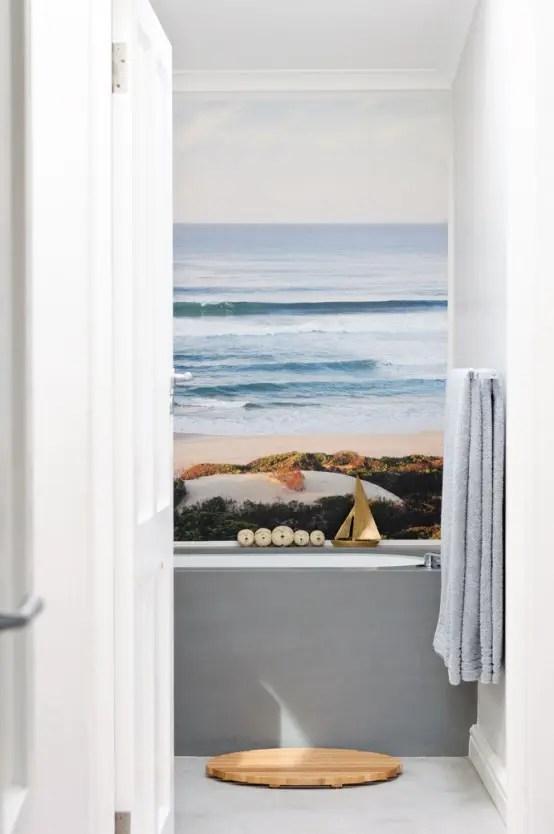 title | Beach Themed Bathroom Wall Decor