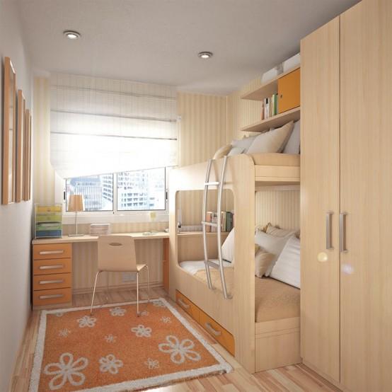 55 Thoughtful Teenage Bedroom Layouts - DigsDigs on Small Bedroom Ideas For Teens  id=91623
