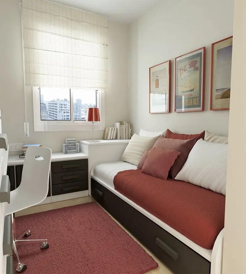 50 Thoughtful Teenage Bedroom Layouts | DigsDigs on Small Bedroom Ideas For Teens  id=72850