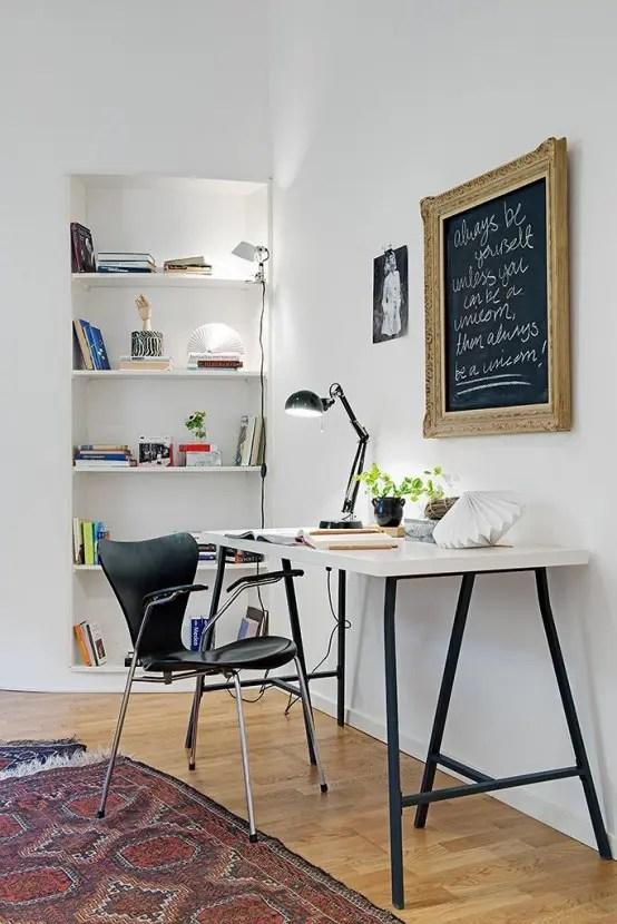 32 Smart Chalkboard Home Office D 233 Cor Ideas Digsdigs