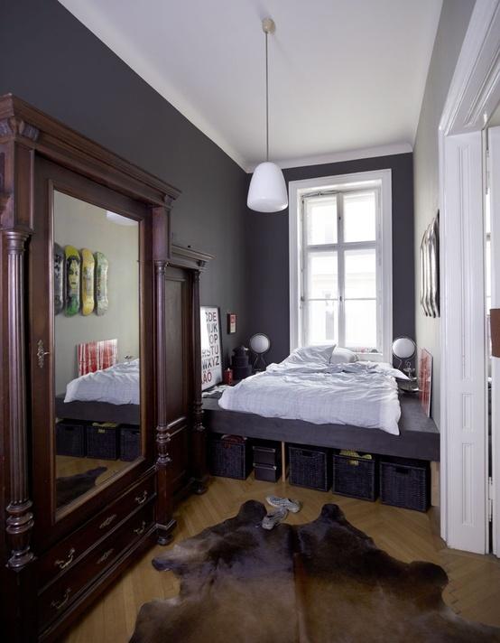 33 Smart Small Bedroom Design Ideas - DigsDigs on Bedroom Ideas Small Room  id=53305