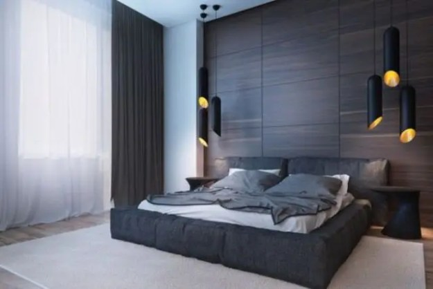 33 stylish masculine headboards for your man's cave bedroom - digsdigs