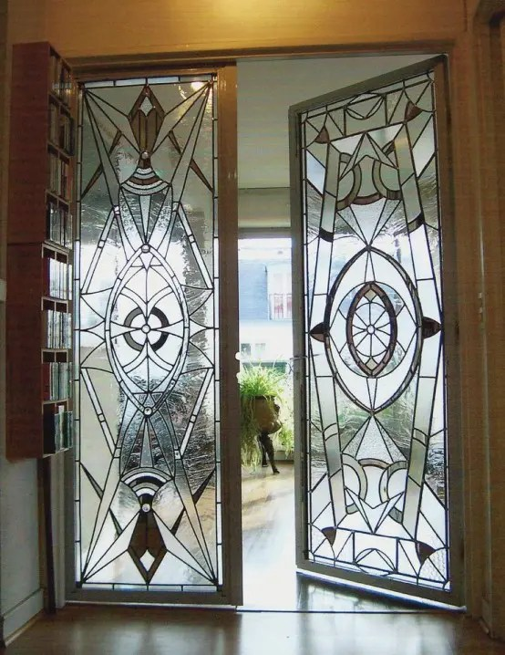 25 Stained Glass Ideas For Indoor And Outdoor Home Decor ... on Glass House Design Ideas  id=18829