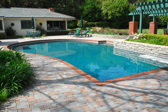 25 Stone Pool Deck Design Ideas - DigsDigs on Pool Deck Patio Ideas  id=61057